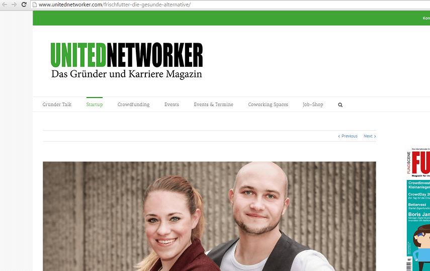 Interview auf United Networker